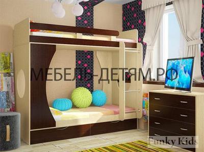 двухъярусные кровати Фанки Кидз