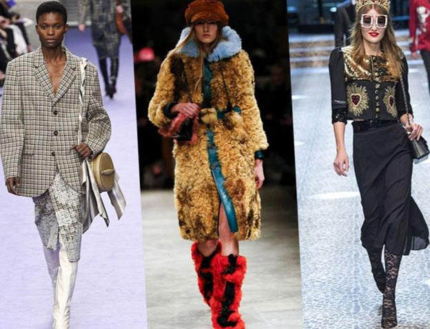 Мода для женщин в 2018 - Зима