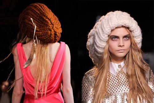 модные шапки 2013-2014